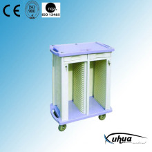 ABS Plastic Hospital Medical Patient File Cart (P-2)