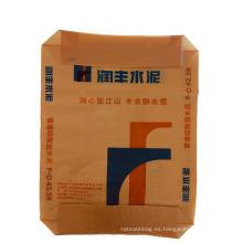 Paquete de cemento tejido PP de plástico