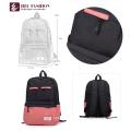 Produtos baratos para vender mochila de lazer Material de lona para mulheres