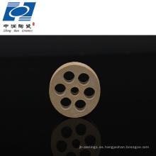 buena venta cordierita pieza de elemento de calefacción de cerámica