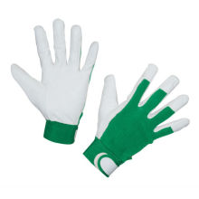 NMSAFETY trabajo duro uso de guantes de trabajo de cuero de grano de cabra