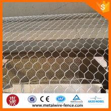 Malla de alambre hexagonal barata de hierro galvanizado de alta calidad