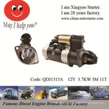 Nuevo arrancador eléctrico para la reparación del motor del barco de la caída (QDJ1315A)