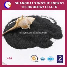 Alumine fondue noire de 85% Al2O3 / oxyde d'aluminium
