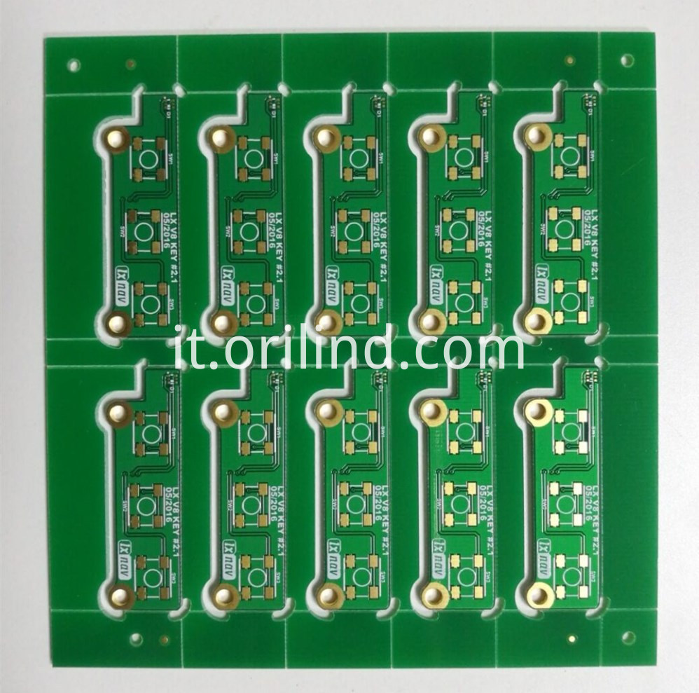 Double side pwb board