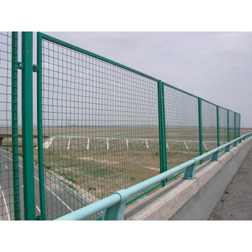 Cheap PVC Coated Fence Framework Fence Bridge Fence