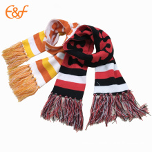 Best Quality OEM Custom Cotton Knitted Girls Scarf