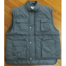 Winter Padded Padding Tc Polyester / Coton Body Warmer Workwear Work Manteau sans manches (BW15)