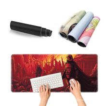 Large Gaming Mouse Pad Thick Extended Mousepad Office Desk Pad with Smooth Cloth for Work and Gaming