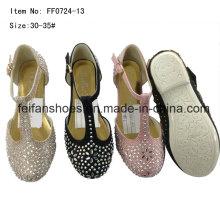 Diamond Princess Shoes Chaussures de danse pour enfants Chaussures de fête (FF0724 -13)