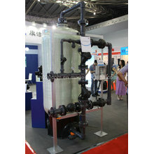 Multi-Valve Water Filter System for High Flow Rate for Industrial Water Treatment