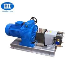 High viscosity sanitary food grade liquid transfer pump