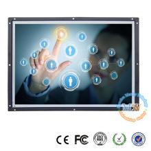 Marco abierto monitor LCD de pantalla táctil de 19 pulgadas con pantalla ancha 16:10 resolución 1440X900