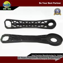 CNC поставщика фарфора Поставкы подвергая механической обработке черный Пластиковые пластины