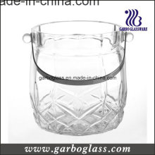 Corona Glass Ice Bucket for Bar