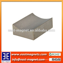 The Shape of Invert Sinterd Neodymium Magnet/custom block concave shaped strong ndfeb magnet