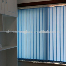 Tissu de rideau antidéflagrant corde durable persiennes verticales