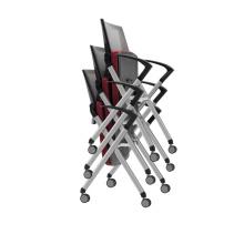 visiteur pliant / empilant / réunion chaise de formation