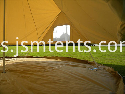 100% Canvas Tents with Zipped Groundsheet