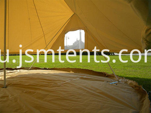 Outdoor Camping Bell Tents with Stove