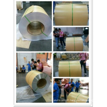 Aluminum Housing Coil with Kraft Paper