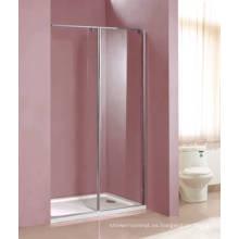 Cubículo de ducha de vidrio templado (HM1282)