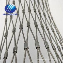 Malha de malha de jardim zoológico de malha de malha de cabo de corda de fio de aço inoxidável preço decorativo