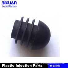 Injection en plastique de partie en plastique emboutissant la pièce en acier de moulage