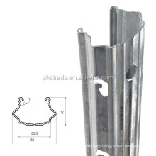 round/square/bevelled vineyard metal fence post/grape stake