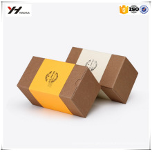 wholesale custom recycled small folding kraft gift paper box creative paper packaging box