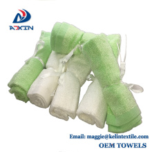 Alibaba Best selling bamboo baby washcloths 100% organic bamboo towel