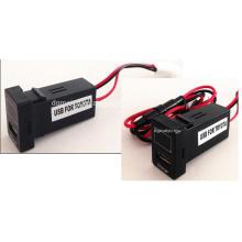 Аудио автомобиля USB зарядное устройство, адаптер, сплиттер, Розетка для Honda, Acura, Тойота
