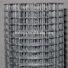 bon marché treillis métallique soudé de maille de fil de fer 50x50 / maille soudée de calibre 10