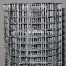 cheap welded iron wire mesh 50x50 wire mesh / 10 gauge welded wire mesh