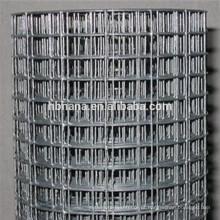 barato malha de arame de ferro soldada 50x50 malha de arame / 10 calibre de malha de arame soldado