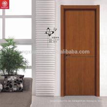 Moderne Inter-Holz-Tür-Designs mit PVC-Film beschichtet Holz Tür