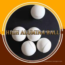 Глинозем керамический с высокого глинозема износоустойчивый шарики