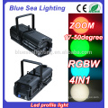 200w LED Cool/warm White rgbw 4in1 gobo zoom light