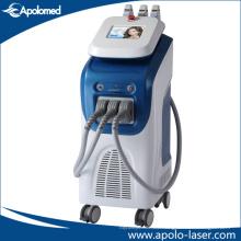Máquina de la belleza del rejuvenecimiento de la piel del retiro del pelo del IPL (IPL + función de E-luz HS-350E)