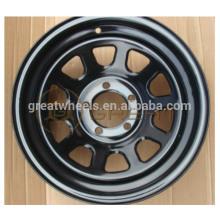 6x139.7 rodas de aço do carro com desempenho elevado
