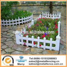 пластиковые гальванизированная стальная загородка сада за забор ПВХ стали газон