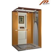Holzkabine Villa Aufzug mit Maschine Raumlos