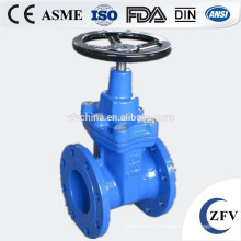 Resilient seated flanged gate valve for 2015