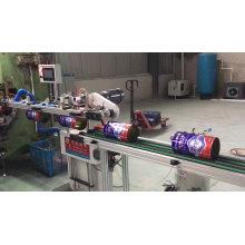 Linha de processamento de fabricação de latas quadradas / retangulares automáticas