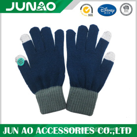 Screen touch keep warmer knit glove