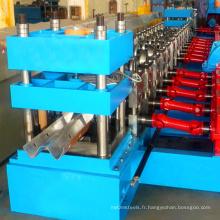 Feuille de toiture de barrière de garde de route w profil de faisceau w canal de profilage formant la machine