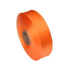 オレンジ色の PP 糸固体