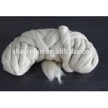 Pure Chinese sheep wool tops 19.5mic/44mm ,Sheep wool tops for sale
