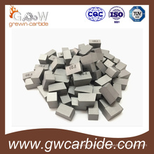 Manufacture Tungsten Carbide Brazed Tips for Cutting Tool K10 K20