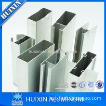 Various shape anodized aluminum profile door frame custom aluminum parts